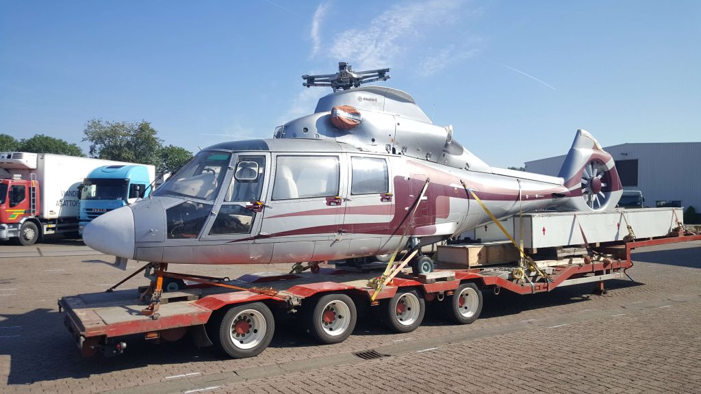 Helictoper transport